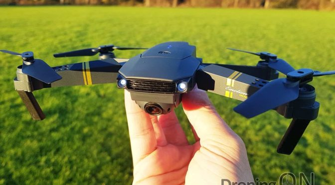 Eachine E58 Unboxing, Setup And Flight Test Review – The Mini DJI Mavic