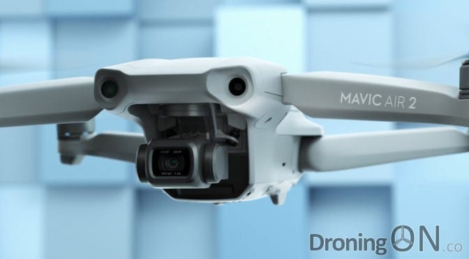 DJI Mavic Air 2 Launched – 34 Mins Flight Time, 48Mp Photos, 8K Hyperlapse, OcuSync 2.0, 10Km Range